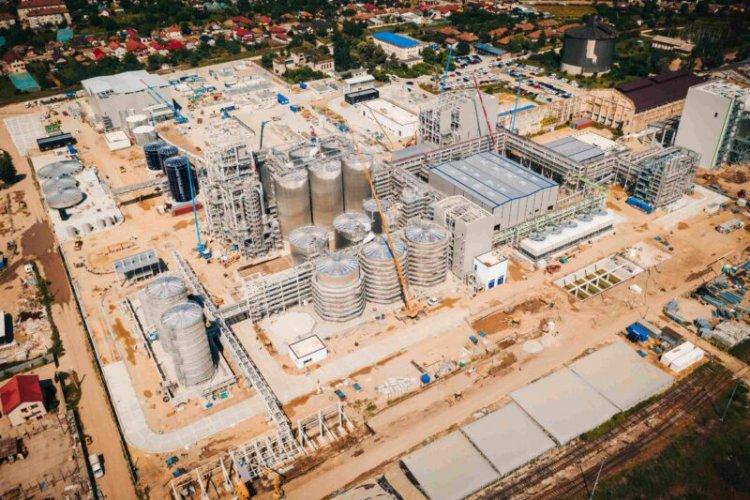 Mega-fabrica Clariant de la Podari, aproape de finalizare